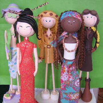 Bonecas de decoração