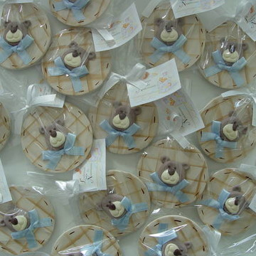 (LC 0118a) Ímã ursinho biscuit