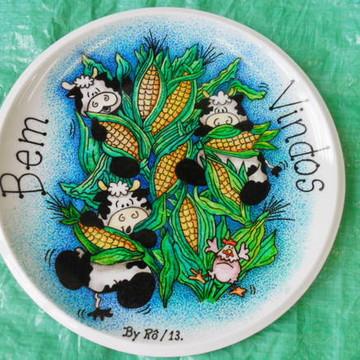 Vacas no Milharal - Bem Vindos!