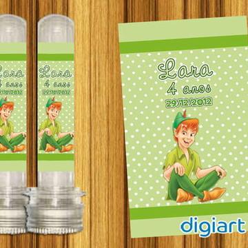 Adesivo Para Tubete Peter Pan