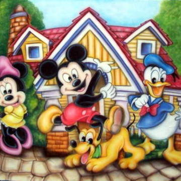 Painel Mickey