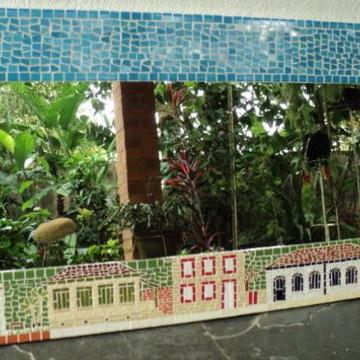 Espelho mosaico Casario 50x100cm