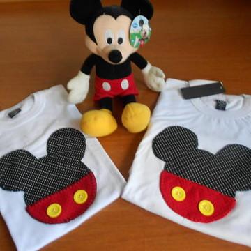 Camiseta Personalizada Mickey(Família)
