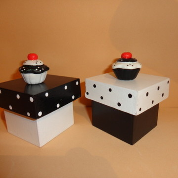 Caixinha MDF - Cupcake