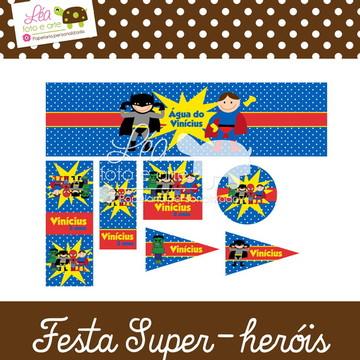 Papelaria Festa Super-heróis