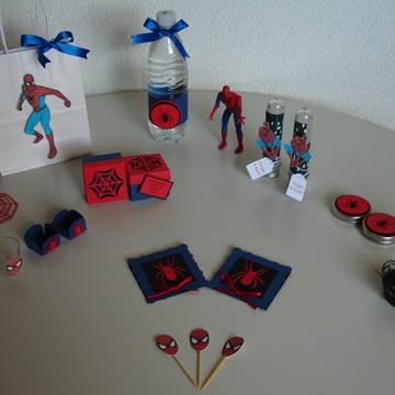 Kit Festa Personalizado Homem Aranha