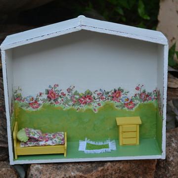Mini casa de Bonecas