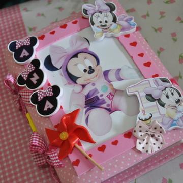 Álbum Para Foto Minnie Bebê Pequeno