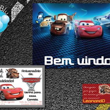Carros Kit Festa Digital  Disney Pixar