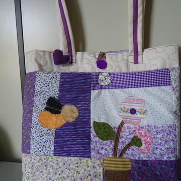 bolsa patchwork