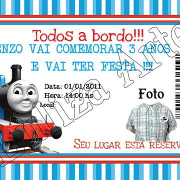 Arte Digital - Convite Thomaz
