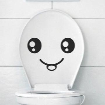 Adesivo De Banheiro - Patente Sorrindo