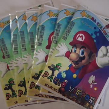 Revista De Colorir - Super Mario