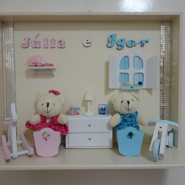 Porta Maternidade - Gêmeos