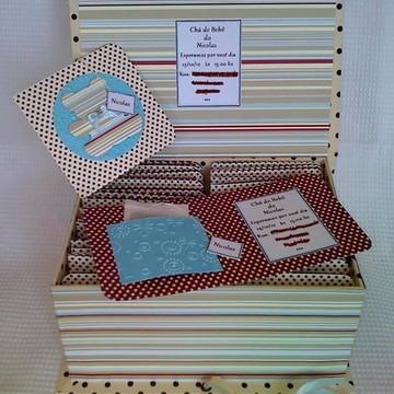 Kit convites para chá de Bebê