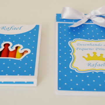 Kit Colorir Pequeno Príncipe