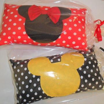 Almofada Minnie E Mickey ( 27x16cm)