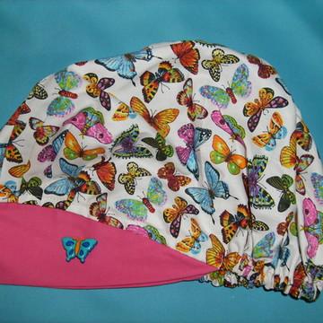 touca cirurgica coleção borboletas