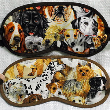 Máscaras p/ olhos cães