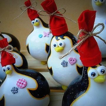 Mini Pinguim De Cabaça - Valor Unitário