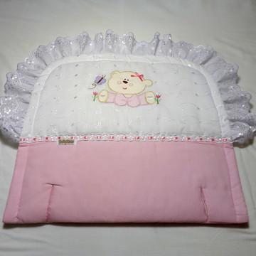 Forro Para Carrinho - Ursinha (rosa)