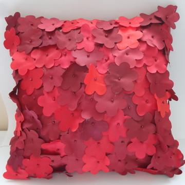 Capa de Almofada decorativa com flores