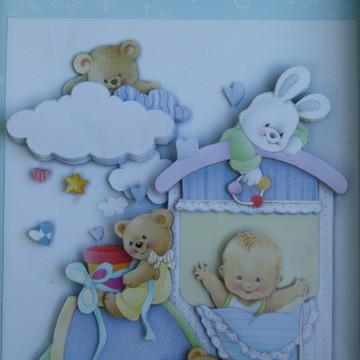 Quadro para quarto de bebê