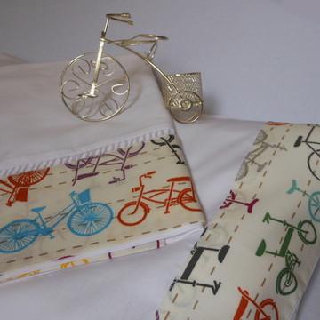 Jogo De Lençol Para Berço Bike