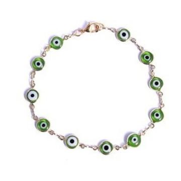 Pulseira Olho Grego Verde