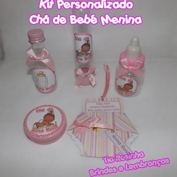 Kit Personalizado Chá de Bebê Menina