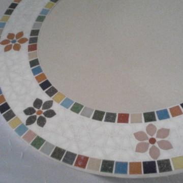 Espelho Mosaico Colorido