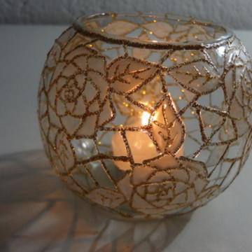 luminária para vela