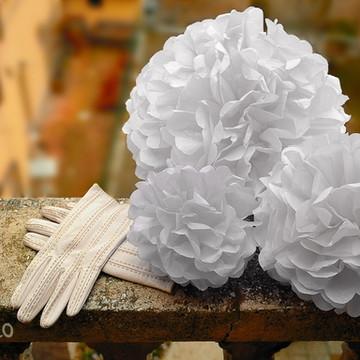 Decoração Noiva 60 Pom Seda Casamento