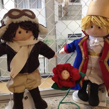 Pequeno Príncipe, Aviador e Rosa