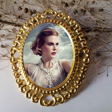 Medalha para Buque de noiva Relicario com foto