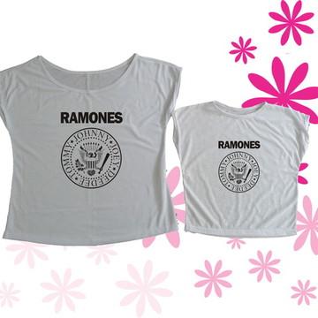 T-shirt Tal Mãe, Tal Filha (o) Ramones