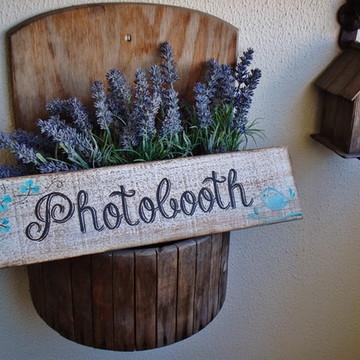 Placa Photobooth Bird