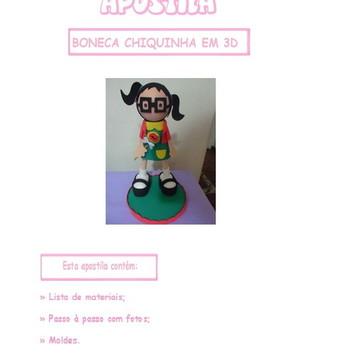 APOSTILA PASSO A PASSO DA CHIQUINHA