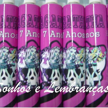 Bisnaga  Personalizada Monster High