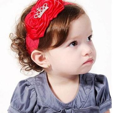 Faixa Renda Coroa Princesa