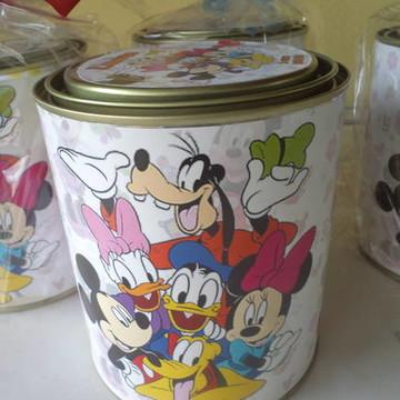 Lata leite Mickey e Minie