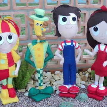 Personagens Sitio Pica Pau Amarelo