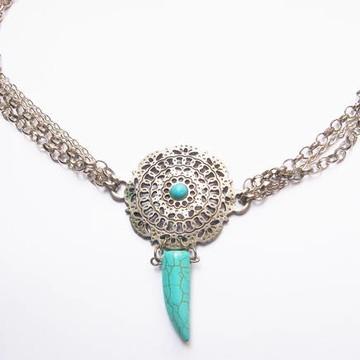 Colar Mandala Turquoise