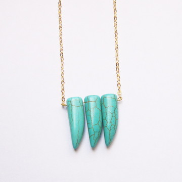 Colar Turquoise Teeth