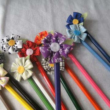 Jardim de lápis de cor