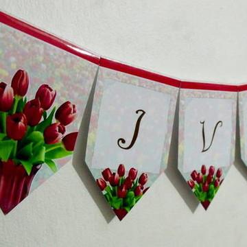Bandeirola flores M1