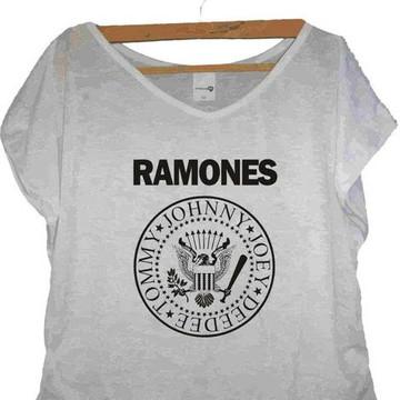 T-shirt Caveira Ramones