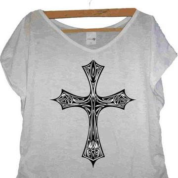 T-shirt Crucifixo
