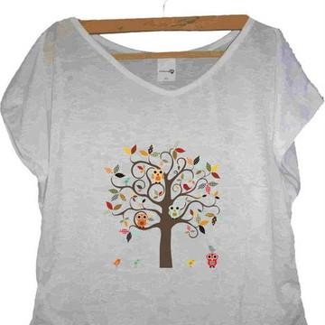 T-shirt Corujinhas