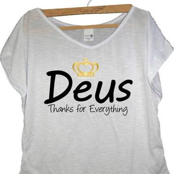 T-shirt Thanks Deus